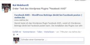facebook awd test - screenshot 1